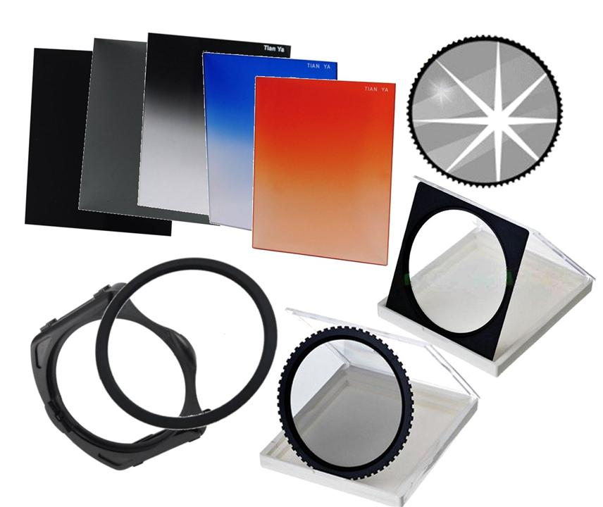 Square Filter Full SET with CPL Softfocus Star (Cokin P compatible)