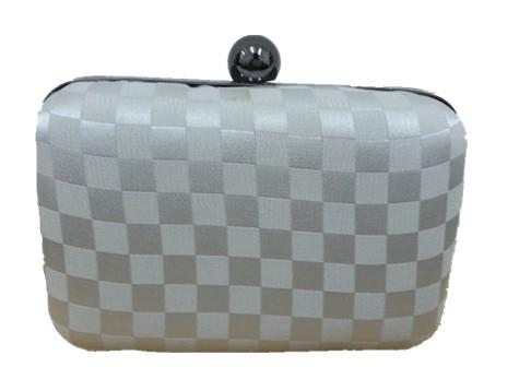 Square Pattern Clutch & Sling Bag Suitable for Dinner
