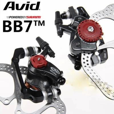 Sram Avid BB7 Mechanical Discs Caliper (Brand New) FREE 2 rotors HS1
