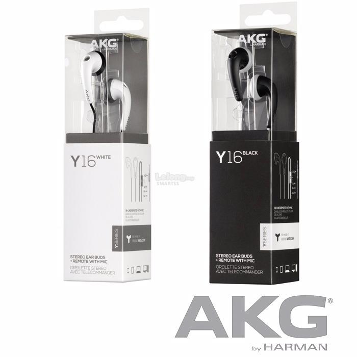 ST. AKG EARSET WIRED Y16A BLK/WHT