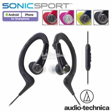 ST. AUDIO TECHNICA EARSET WIRED ATH-SPORT1iS PNK/NY/RED/BLK