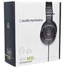 ST. AUDIO TECHNICA HEADSET WIRED ATH-M30X BLACK