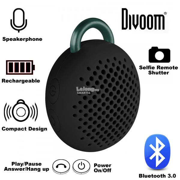 ST. DIVOOM PORTABLE SPEAKER WIRELESS BT BLUETUNE-BEAN B/WH/BL/PK/YL/RD