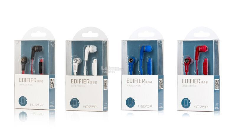 ST. EDIFIER EARSET WIRED H275P BLK/WHT