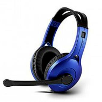 ST.  EDIFIER HEADSET WIRED K800 BLUE