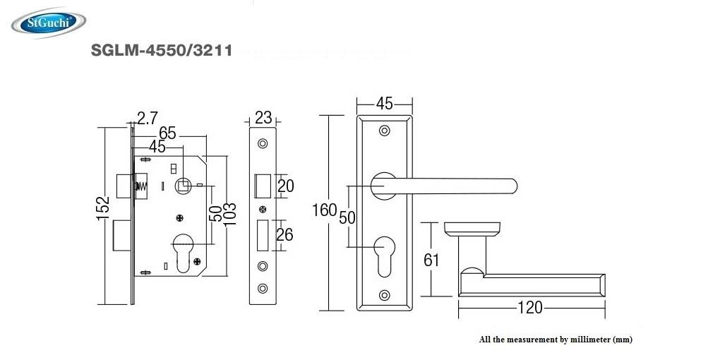 st guchi mortise lock mortise door l  end 9  22  2018 1 13 pm