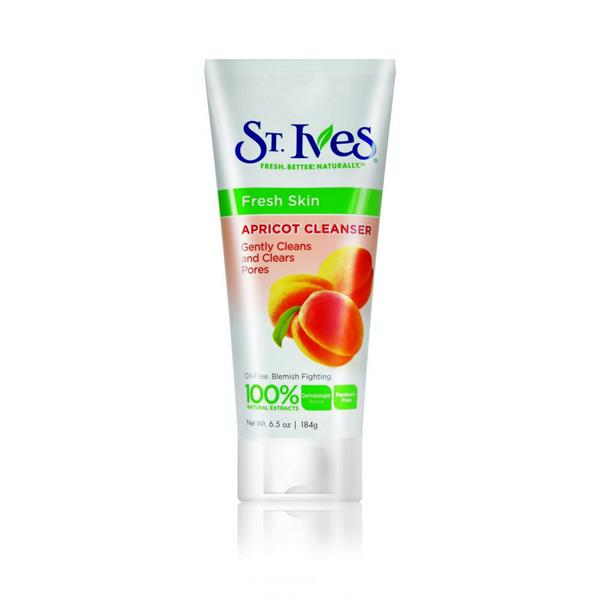 ST. IVES APRICOT CLEANSER 184G