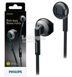 ST. PHILIPS EARSET WIRED RICH BASS SHE3200 BLK/WHT/CR