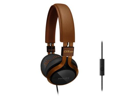 ST. PHILIPS HEADSET WIRED CITI SCAPE SHL5705CM/00 BLACK BROWN