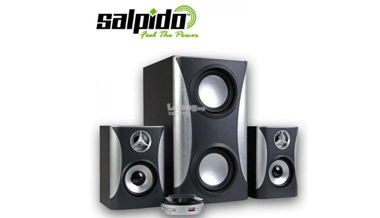 ST. SALPIDO 2.1 SPEAKER G5 WITH USB/SD