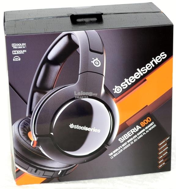 ST. STEEL SERIES HEADSET WIRELESS SIBERIA 800 PN61302