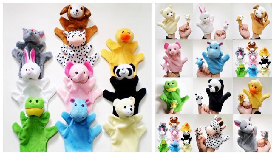ST0049 CUTIE ANIMAL HAND PUPPET (1PCS)