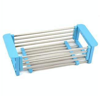 Stainless Steel Adjustable Drain Rack/Dish Storage Rack