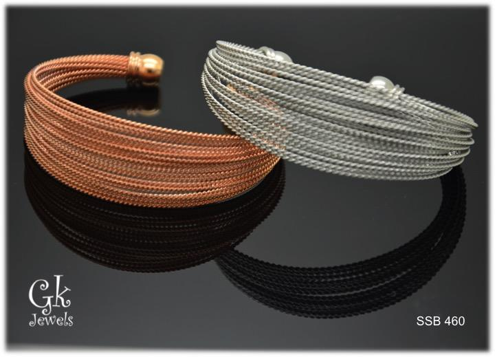 Stainless steel Bangle SSB 460
