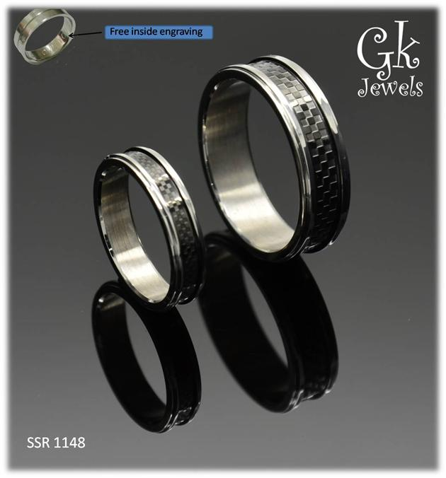 stainless steel couple ring (per pair) SSR 1148