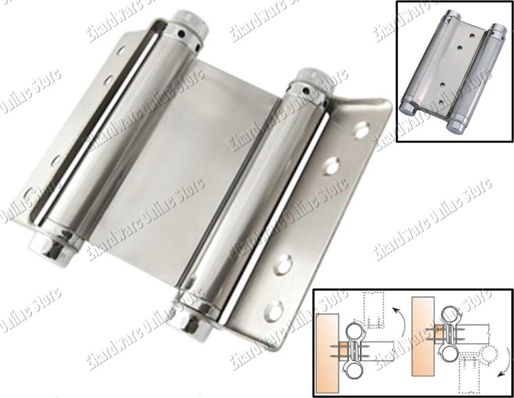 Stainless Steel Double Action Spring Hinges (DASH)