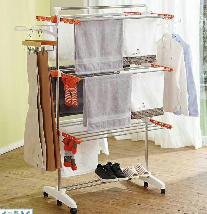 Stainless Steel Drying Rack (random color)