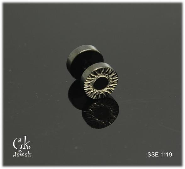 Stainless steel Earring SSE 1119 (one piece)