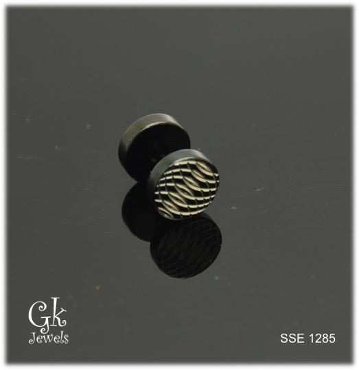 Stainless steel Earring SSE 1285 (one piece)
