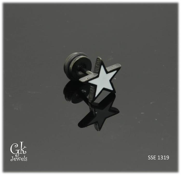 Stainless steel Earring SSE 1319 (10mm)