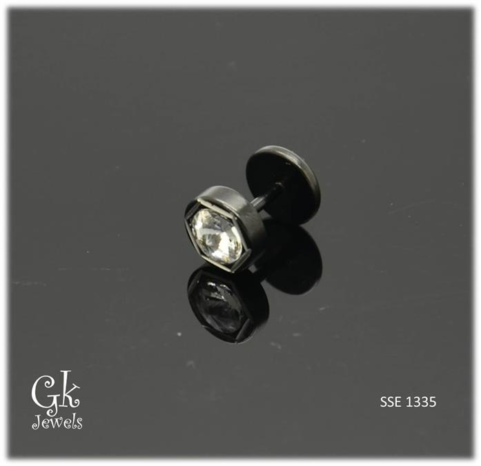 Stainless steel Earring SSE 1335 (8mm)