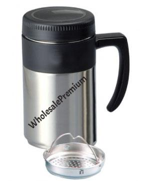 Stainless Steel Mug, Store Cool Or Hot Drinks