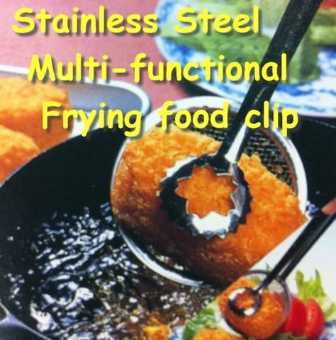 Stainless Steel Multi-function Frying Food Clip