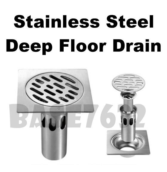 Stainless Steel  Odourless Anti Odour Deep Floor Drain Cover