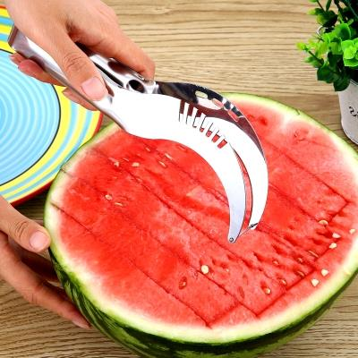 Stainless Steel Watermelon Knife Cutter Slicer