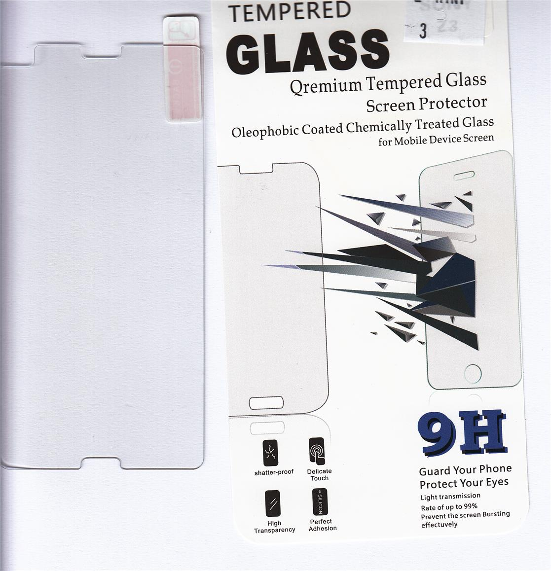 Standard Clear Tempered Glass For Sony Xperia Z3 Mini/Compact