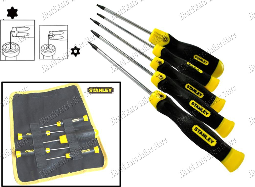 stanley 5pcs torx star screwdriver s end 6 9 2016 10 25 am. Black Bedroom Furniture Sets. Home Design Ideas