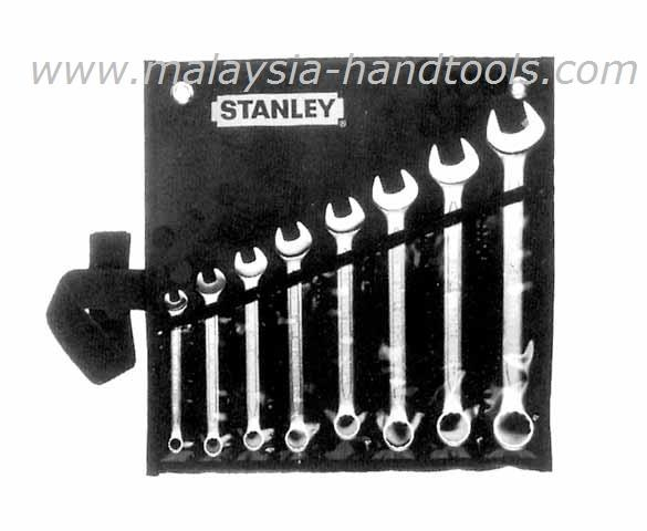 Stanley 87-011 8-Piece Slimline Combination Wrench Set