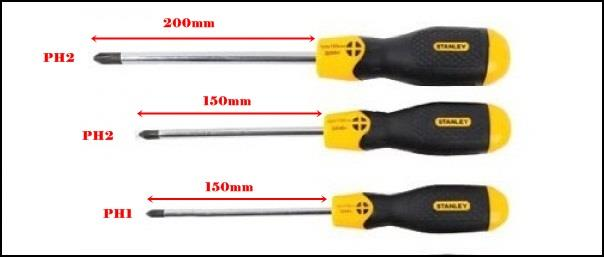 STANLEY SCREW DRIVERS
