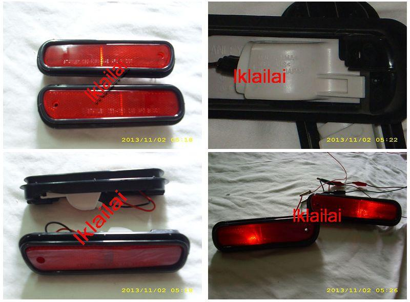 Stanley Side Marker / Rear Bumper Lamp With Bulb [Made In Japan]