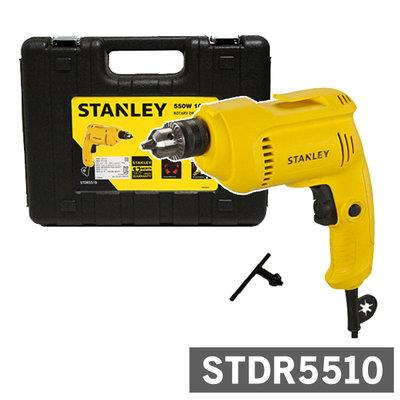 STANLEY STDR5510 10MM VARIABLE SPEED ROTARY DRILL, 550W