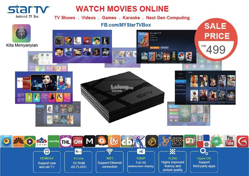 MY Star TV Box - Android Internet TV