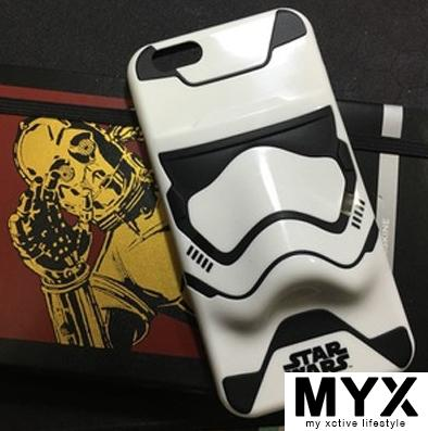 Star Wars 3D Storm Trooper iPhone6 ​​/ 6s / 6plus Casing C