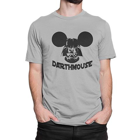Star Wars Darth Mouse Men's Custom Design Cotton T-Shirt