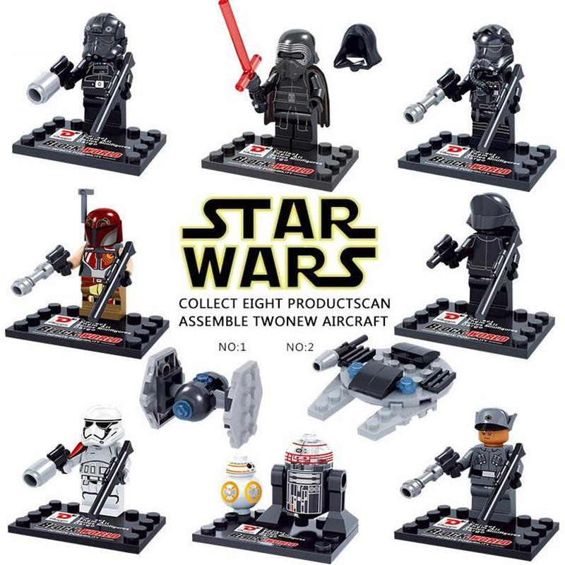 STAR WARS minifigures- 8 in 1 comple (end 2/12/2017 8:15 AM)