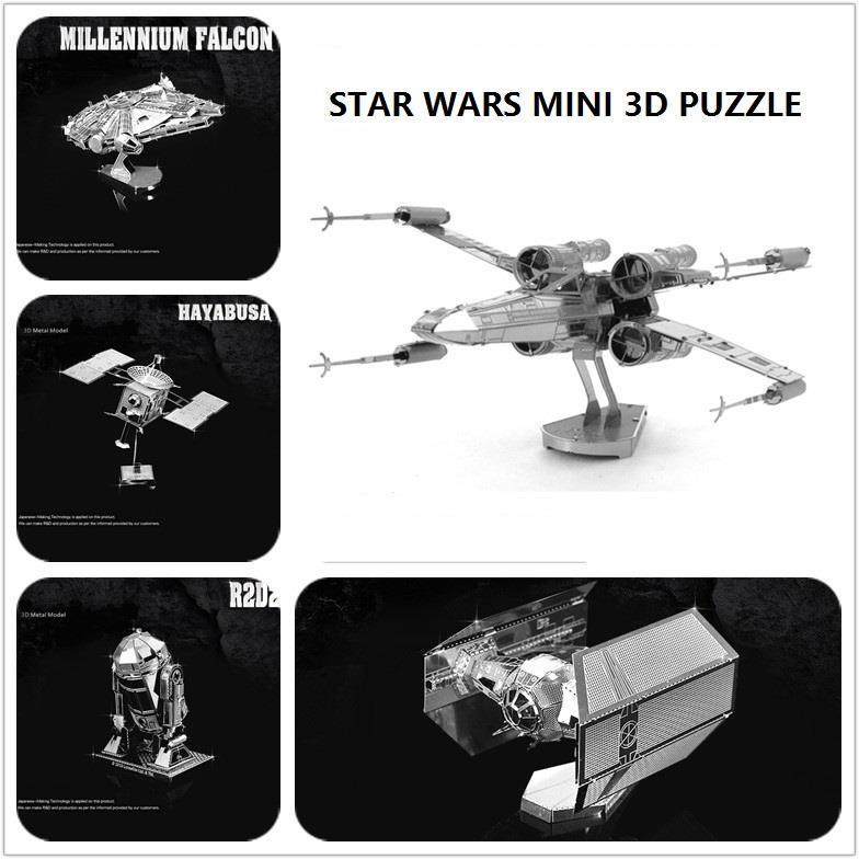 Star Wars Model Series 3D Puzzle DIY Metal works