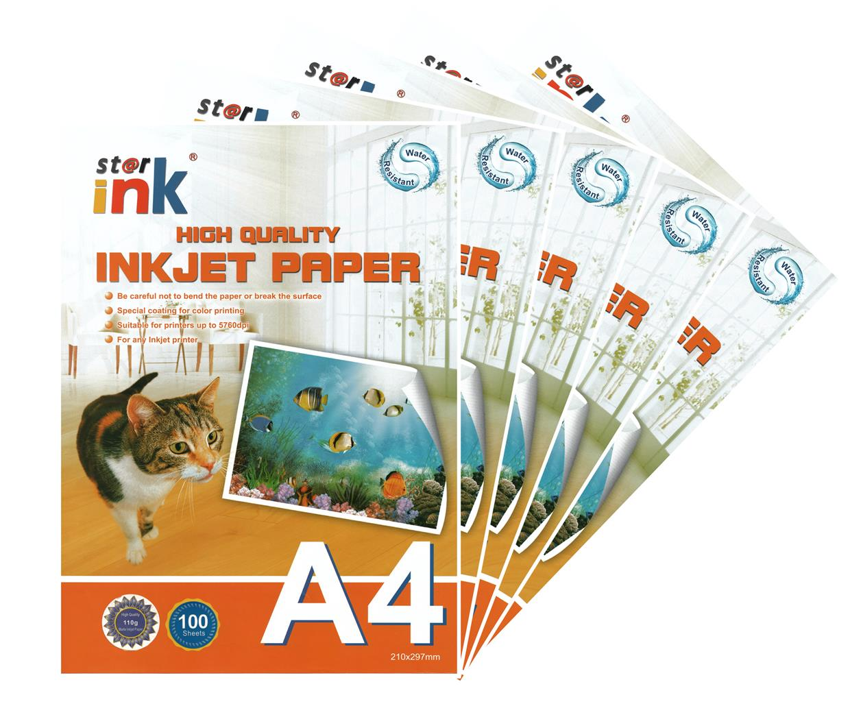 Starink A4 High Quality Inkjet Paper 100 sheets (1 Carton / 20 Unit)
