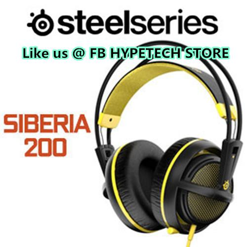 STEELSERIES Headset Wired SIBERIA 200 (51138) PROTON YELLOW