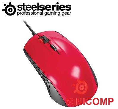SteelSeries Rival 100, Optical Gaming Mouse (Forged Red)