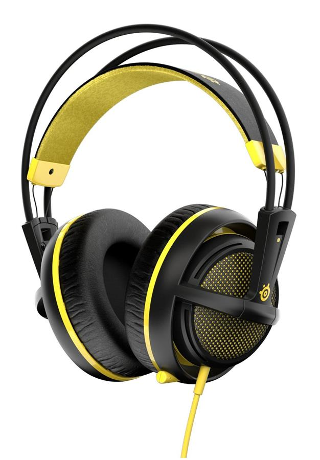 SteelSeries Siberia 200 Gaming Headset - Proton Yellow