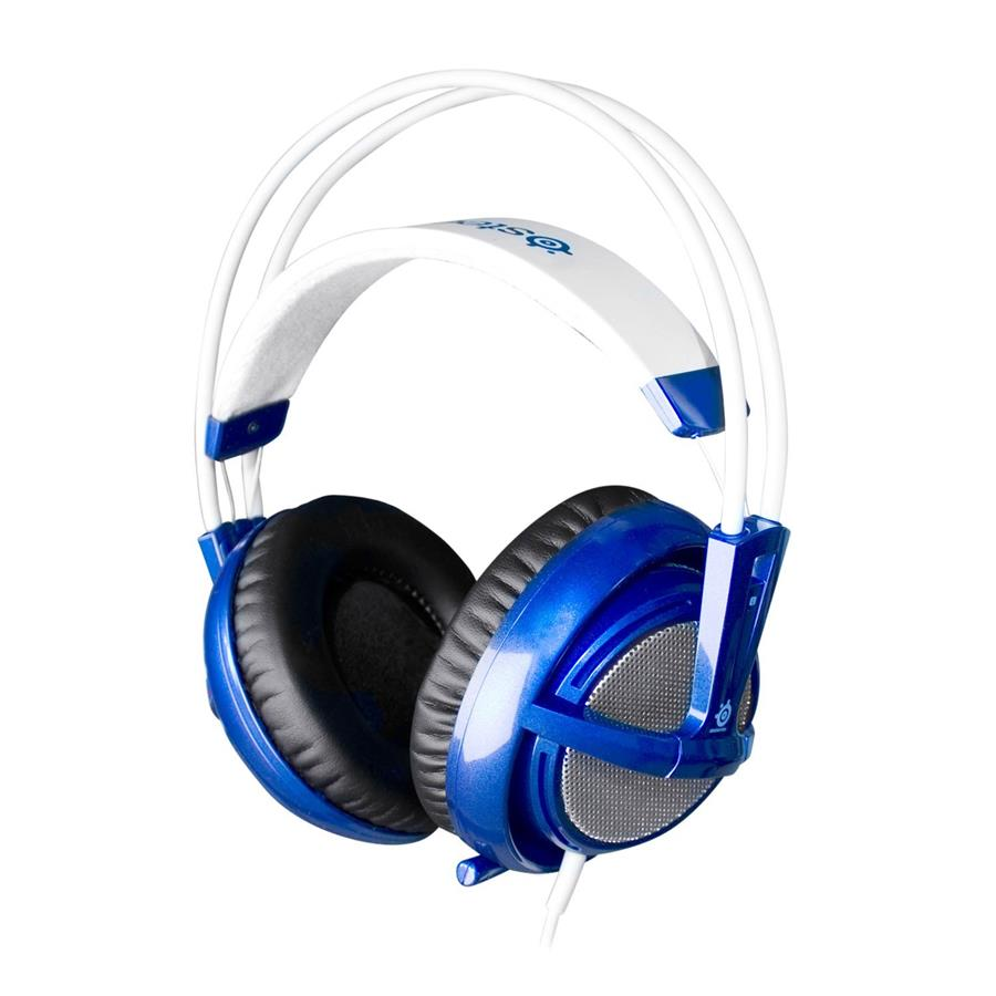 SteelSeries Siberia v2 Full-Size USB Gaming Headset Blue