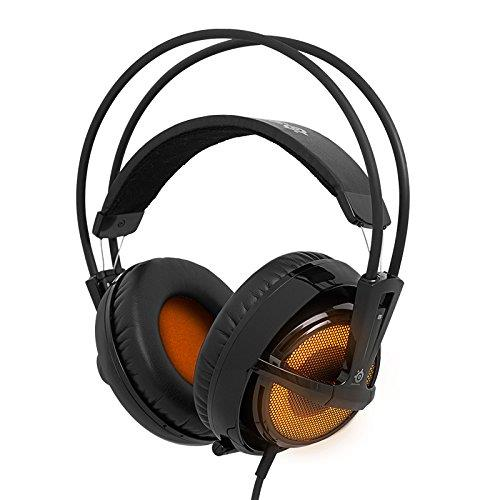 SteelSeries Siberia V2 Illuminated Gaming Headset (Heat Orange)