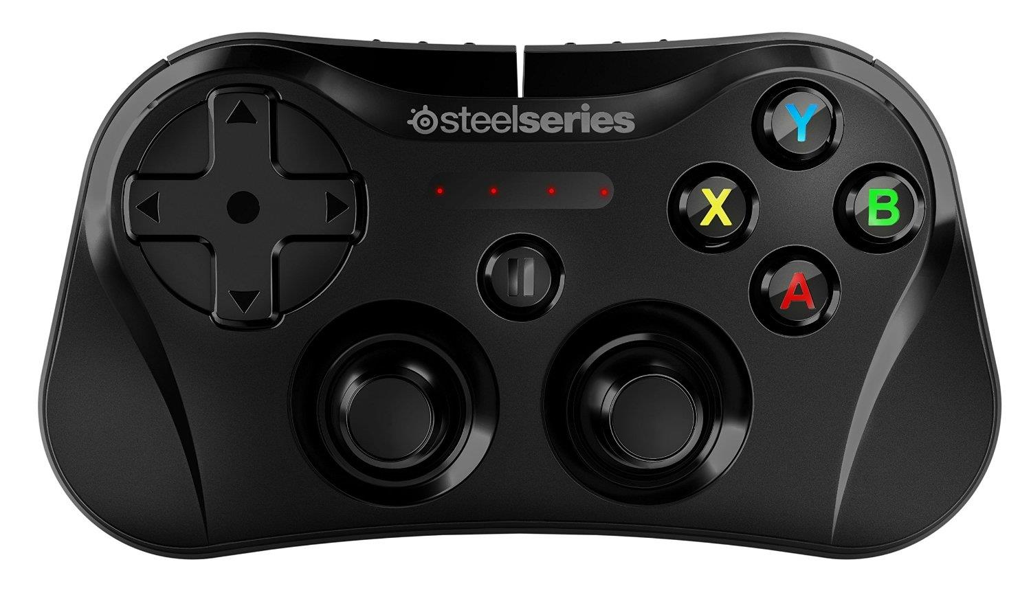 SteelSeries Stratus Wireless Gaming Controller (Black) for iOSr 7