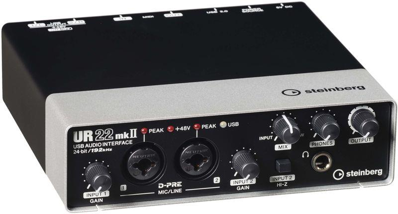 Steinberg UR22 MK II 2 x 2 USB 2.0 audio interface