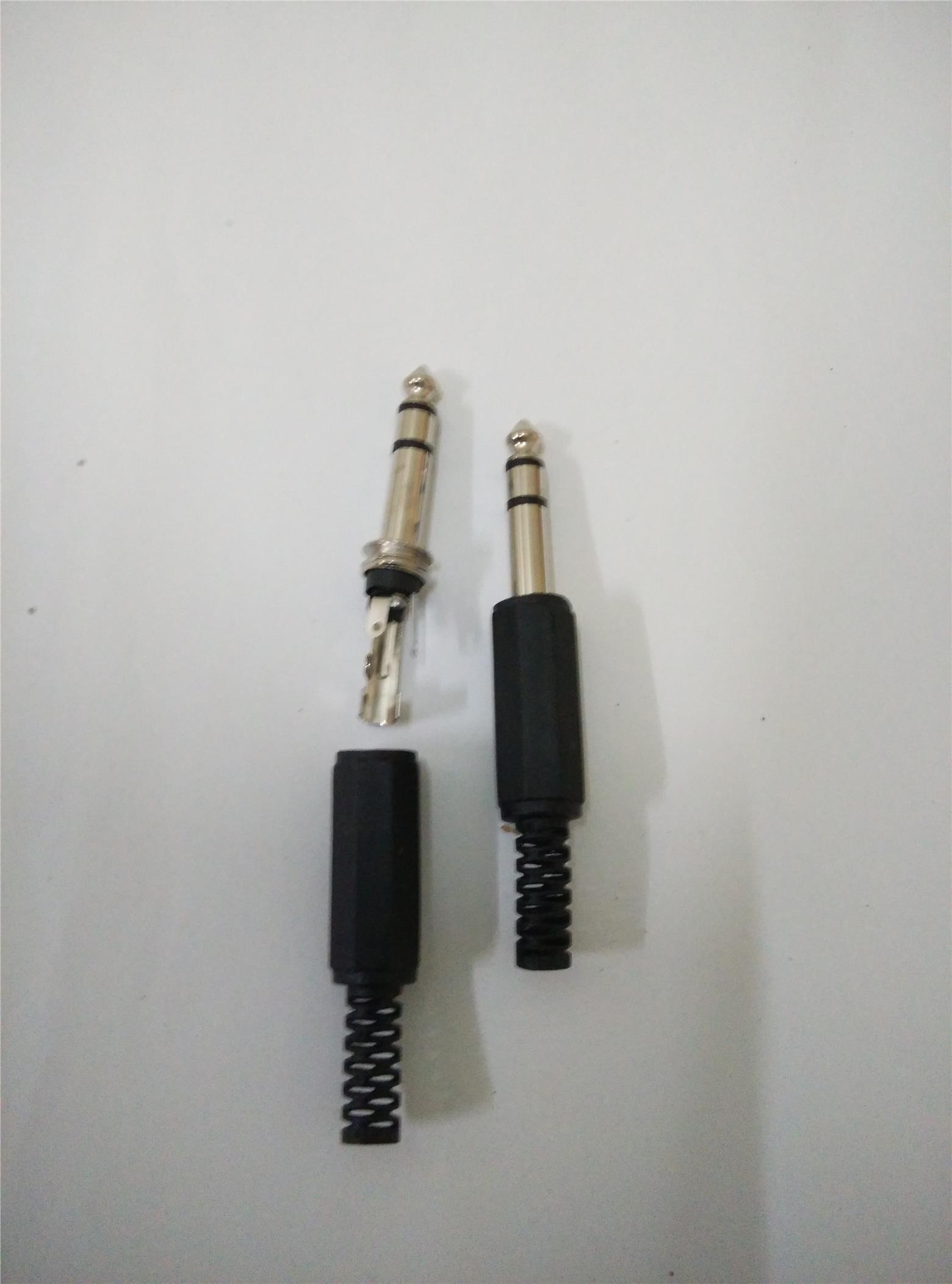 Stereo 6.3mm Phone Jack - 3 pin