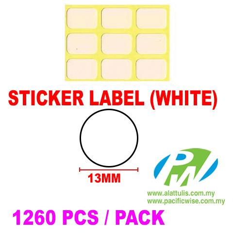 Sticker Label (13mm)